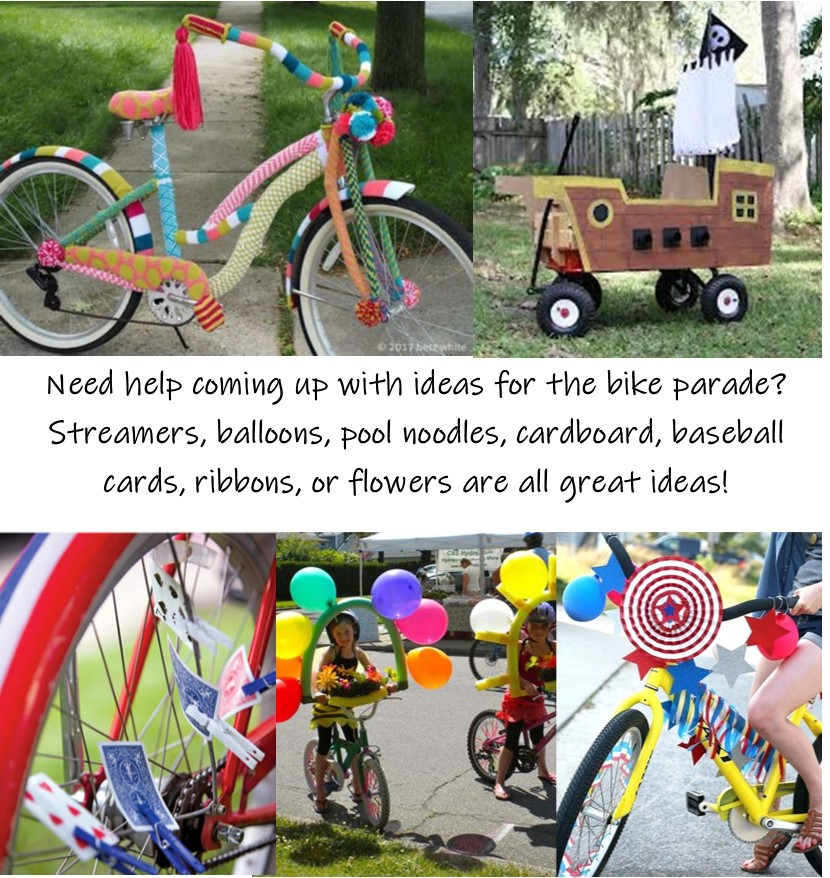 Bike Parade Ideas